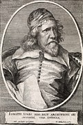 Great Architect Framed Prints - Inigo Jones, British Architect Framed Print by Middle Temple Library