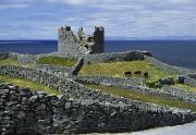Aran Islands Framed Prints - Inisheer, Aran Islands, Co Galway Framed Print by The Irish Image Collection