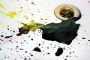 Ink Splash Print by Balanced Art