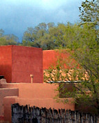 Santa Fe Digital Art - INN at the ALAMEDA Santa Fe by Charlie Spear