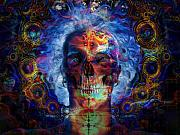 Third Eye Digital Art - Inner Demons by Bear Welch