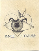 Inner Fitness Print by Jack Edwards