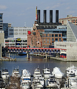 Maryland Photos - Inner Harbor - Baltimore - Maryland by Brendan Reals