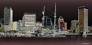 Usf Framed Prints - Inner Harbor - Baltimore Framed Print by Brian Wallace