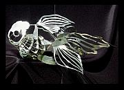 Goldfish Sculptures - Inner Light by Cara McCollum