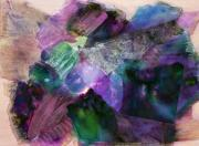 Oil Slick Prints - Inner Light Print by Don  Wright