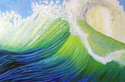 Visionary Paintings - Inner Ocean - Exaltation by Brian  Commerford
