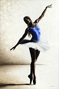 Ballet Art Prints - Inner Peace Print by Richard Young