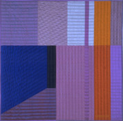 Featured Tapestries - Textiles Originals - Innerspace 10 by Marilyn Henrion