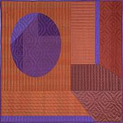 Featured Tapestries - Textiles Originals - Innerspace 11 by Marilyn Henrion
