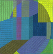 Featured Tapestries - Textiles Originals - Innerspace 5 by Marilyn Henrion
