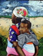 African Child Originals - Innocence by P Muzi Branch
