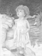 Angelic Drawings - Innocence Springs Eternal by Christopher Brooks