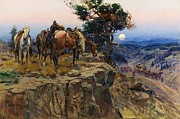 Great Plains Painting Posters - Innocent Allies Poster by Pg Reproductions