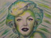 Regina Brandt Metal Prints - Innocent Marilyn Metal Print by Regina Brandt