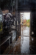 Industrial Photos - Inside Dredge No.3 by Thomas Payer