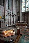 Christmas Card Photo Originals - Inside Hereford Cathedral England by Bob Kemp