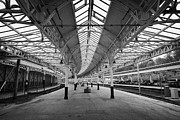Listed Building Framed Prints - Inside Platforms At Weymss Bay Railway Station Scotland Uk Framed Print by Joe Fox