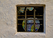 Old Window Photos - Inside Space by Odd Jeppesen
