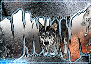 Inside The Monsters Jaws Print by Cheri Doyle
