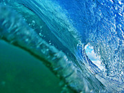 Waves Photos - Inside the Pipeline I by Paul Topp
