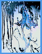 Drips Paintings - Insight by Anna Cole Taylor