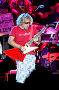 Stage Photo Originals - Inspi Red Guitar by Dennis Jones