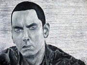 Eminem Drawings Originals - Inspiration by Giselle Rivas