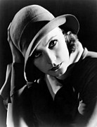 Cloche Posters - Inspiration, Greta Garbo, Portrait Poster by Everett