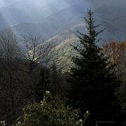 Mountain Scene Photo Prints - Inspiration Print by Joseph G Holland