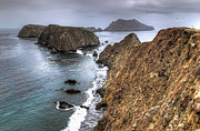 Inspiration Point Framed Prints - Inspiration Point - Anacapa Island Framed Print by Eddie Yerkish