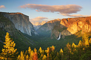 Inspiration Point Prints - Inspiration Point Yosemite Print by Brian Ernst