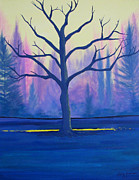 Inspire Paintings - Inspiration Tree by Stacey Zimmerman