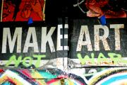 Nyc Mixed Media - Inspirational Graffiti Art for the HOme by Anahi DeCanio