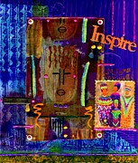 Fabric Mixed Media - Inspire by Angela L Walker