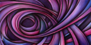 Pink Ribbon Prints - Inspire Print by Michael Lang