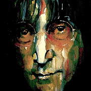 The Beatles  Paintings - Instant Karma by Paul Lovering