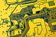 Electronic Component Prints - Integrated circuit Print by Carlos Caetano