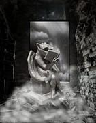 Intellectual   Gargoyle Print by Cheryl Young