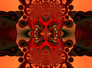 Digital Abstract Digital Art - Intense confrontation by Claude McCoy
