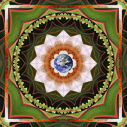 Sacred Geometry Posters - Intention Poster by Bell And Todd