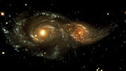 Interacting Prints - Interacting Galaxies Print by Nasaesastscihubble Heritage Team