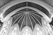 Black And Whites - Interior Architecture of a Church by Anthony Rego