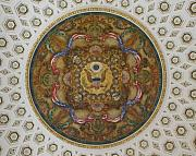 Library Of Congress Photos - Interior Art at the Library of Congress Jefferson Building by Carol M Highsmith