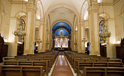 Saint Charles Prints - Interior Of Colorful Saint Charles Print by Greg Dale