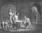 Interior Of Egyptian Bath Print by Granger