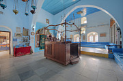Synagogue Photos - Interior Of Synagogue Sanctuary by Noam Armonn