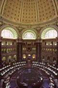 Library Of Congress Photos - Interior Of The Library Of Congress by Kenneth Garrett