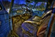 Antique Automobiles Photos - Interior One by Jerry Golab