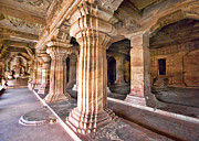 Karnataka Art - Interiors, Cave Temple 3, Badami, Karnataka by Mukul Banerjee Photography